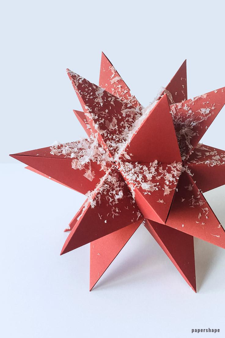 sterne basteln zu weihnachten schne origami sterne falten diy. Black Bedroom Furniture Sets. Home Design Ideas