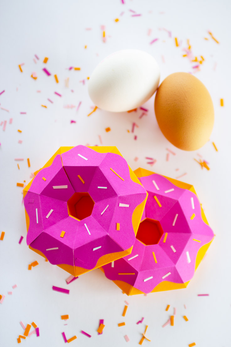 Cute Donut Easternest from paper