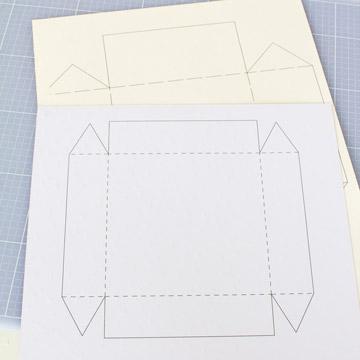 Extrem Stabile Geschenkbox basteln [Vorlage] - Papershape WK24