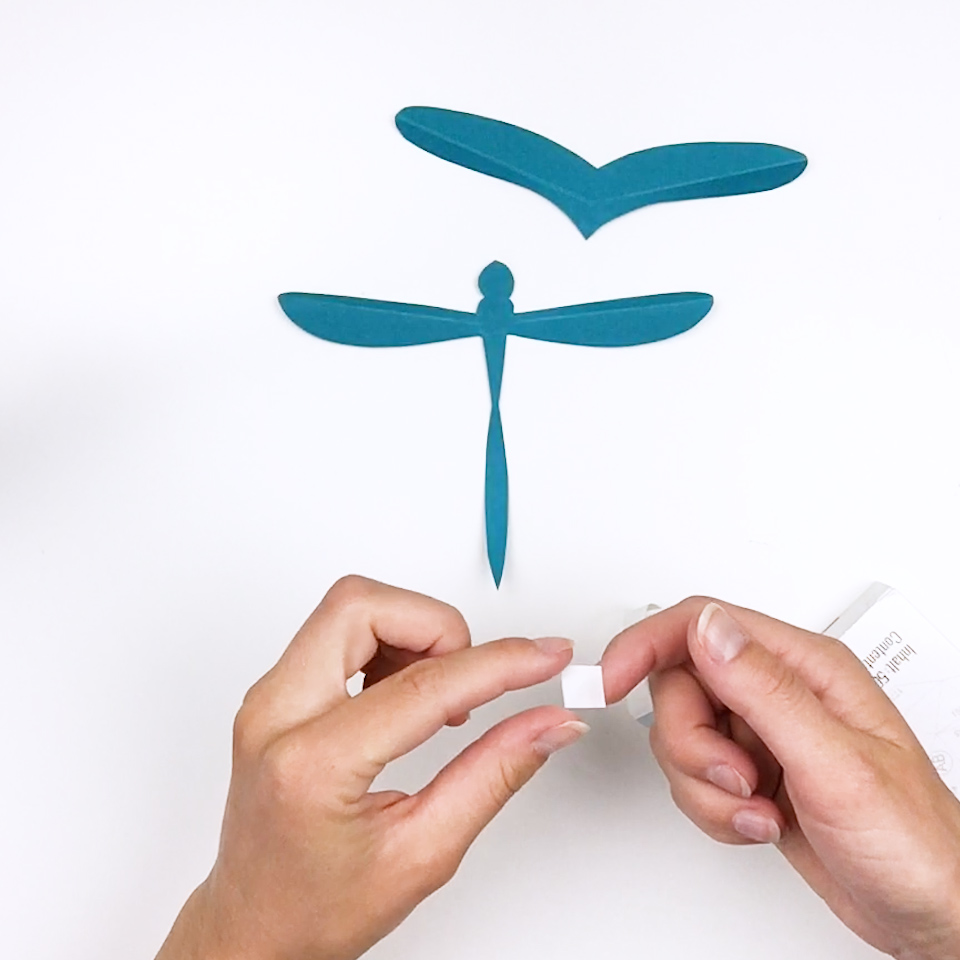 3d Origami Magnets 3d Origami Dragonfly by ArtsyHandsCreations | Diseño  origami, Manualidades creativas, Origami 3d | 960x960