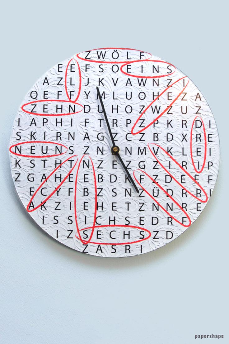 Uhr Basteln Aus Alten Schallplatten Mit Rätselhafter Zeit