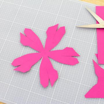 Papier Blumen Basteln Einfache Tulpen Mit Vorlage Papershape