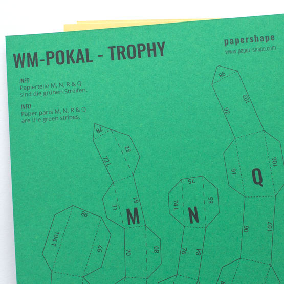 3 Step Tutorial For Your Paper Trophy