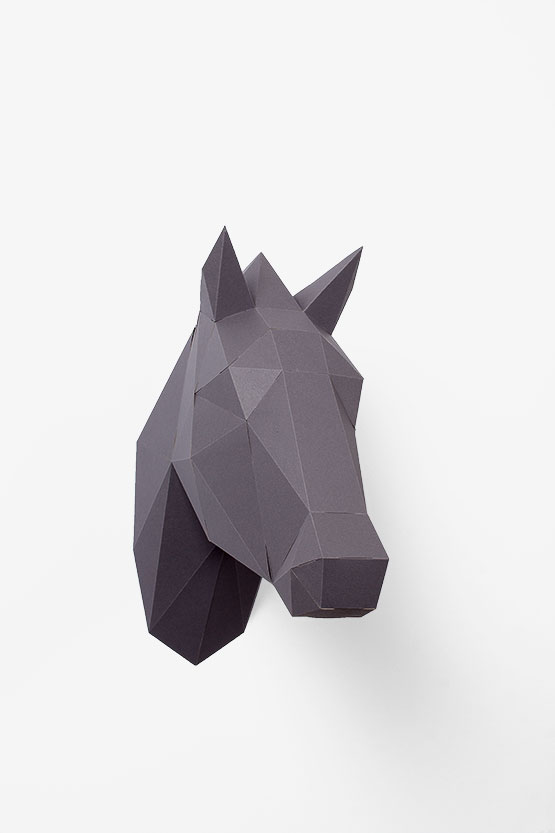Origami Horse Instructions and Diagram | 833x555