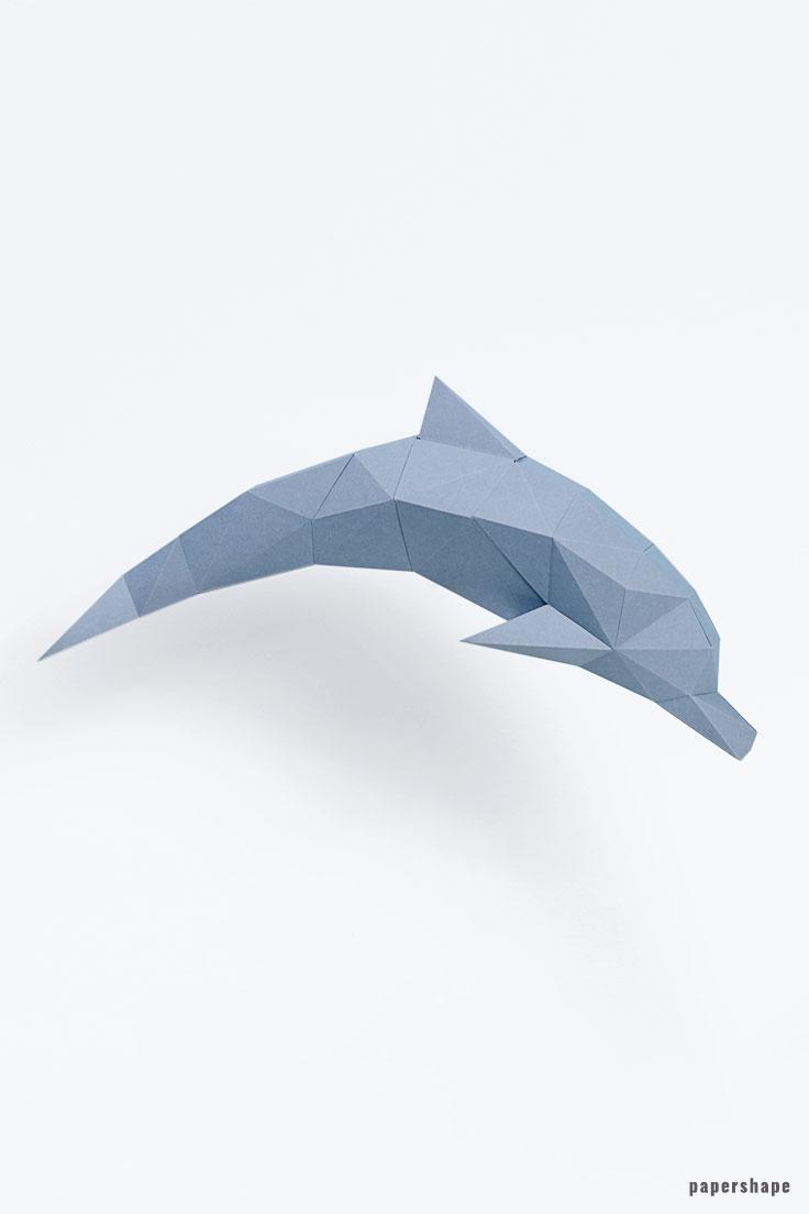 3D Origami Mini Fish - Tutorial • Art Platter | 1104x736
