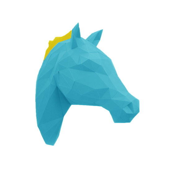 horse Paper Animal